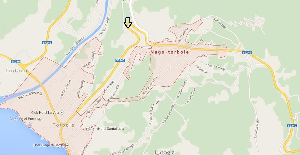 mapa nago