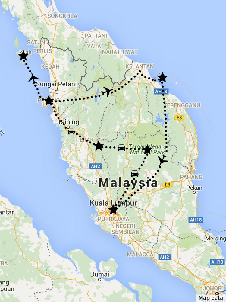 webová stránka malajsie
