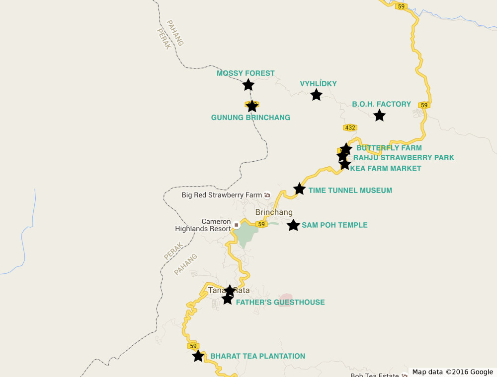 mapa cameron
