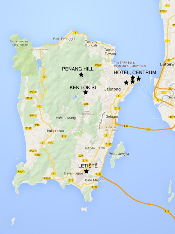 MALAJSIE MAPA 2016 – Mapy Google
