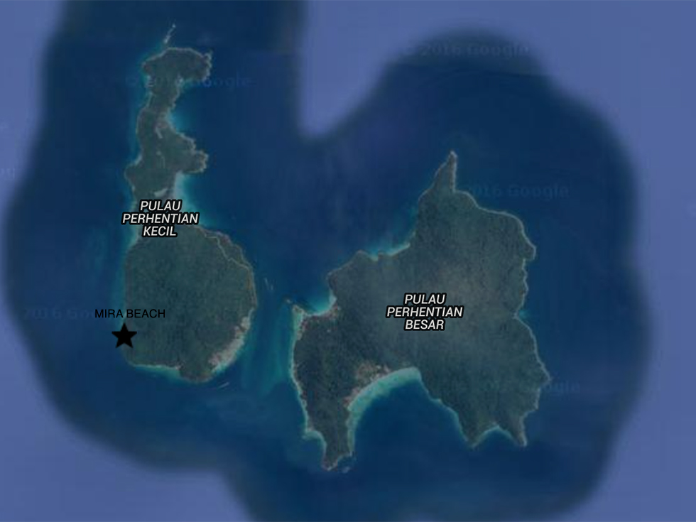 mapa perhentian