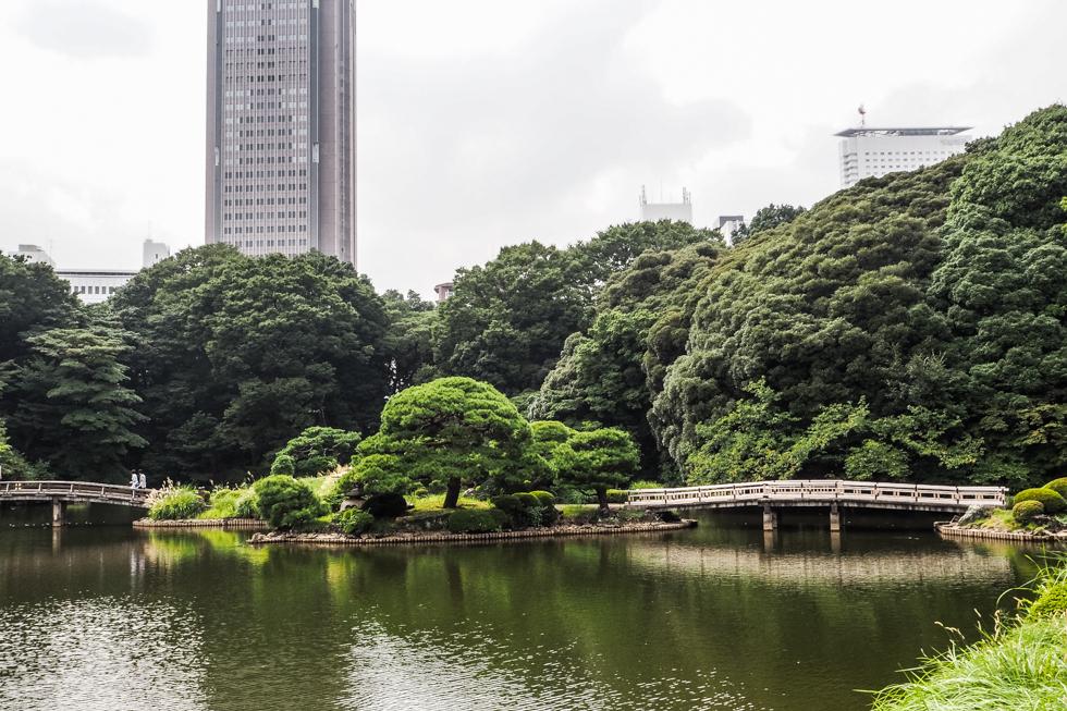 Shinjuku Park (Shinjuku-gyoen) Tokyo