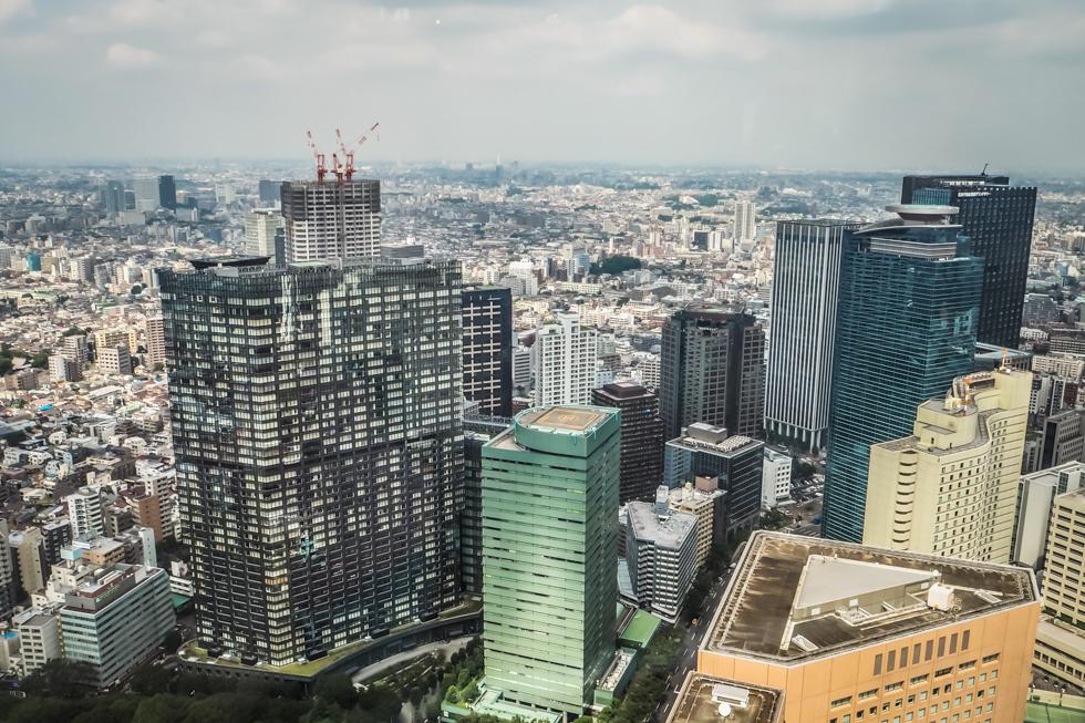 Pájuška na cestách - Tokyo / Tokio - Shinjuku