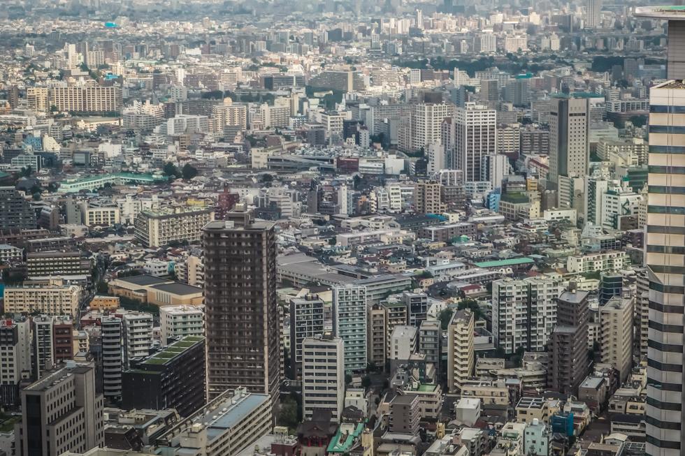 Pájuška na cestách - Tokyo /Tokio - Shinjuku