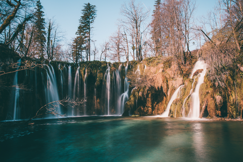 Pájuška na cestách - Plitvická jezera, Chorvatsko